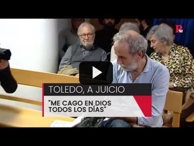 "Embedded thumbnail for Video: Willy Toledo, a juicio: ""Me cago en Dios todos los días"""