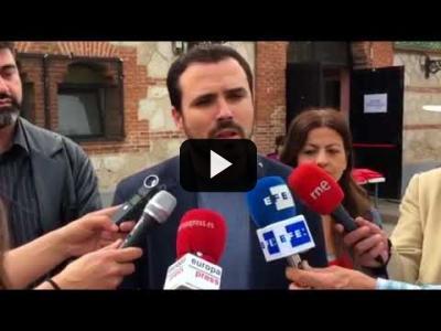 Embedded thumbnail for Video: ALBERTO GARZÓN (IU) sobre el acuerdo con PODEMOS y la MOCIÓN de CENSUSA (02/06/2018)