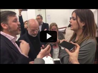 Embedded thumbnail for Video: SANDRA GÓMEZ (PSOE) se enfrenta a 'HAZTE OIR'