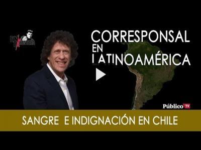 Embedded thumbnail for Video: #EnlaFrontera267 - Sangre e indignación en Chile