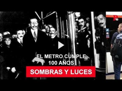 Embedded thumbnail for Video: Luces y sombras en el centenario de Metro Madrid