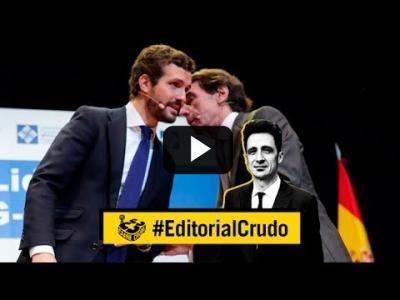 "Embedded thumbnail for Video: ""Aznar y sus muñecos"" | #EditorialCrudo 640"