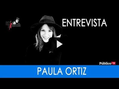 Embedded thumbnail for Video: #EnLaFrontera248 - Entrevista a Paula Ortiz