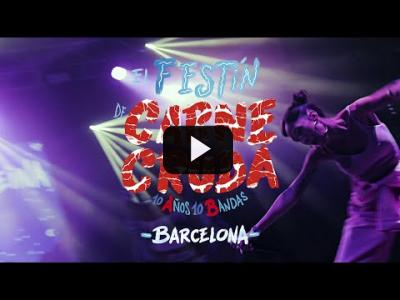 Embedded thumbnail for Video: El Festín de Carne Cruda en Barcelona. 10 años 10 bandas