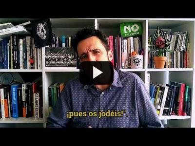 """Embedded thumbnail for Video: """"El PP sólo dice lo que piensa cuando nadie le escucha"""" - Artículo de Crudo #425"""