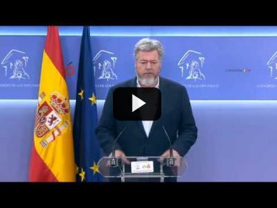 """Embedded thumbnail for Video: Juantxo López de Uralde: """"Al rey le he planteado la gravedad de la emergencia climática"""""""