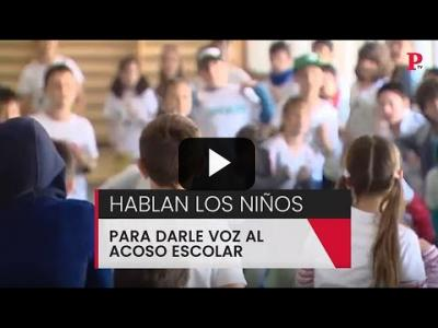 Embedded thumbnail for Video: Hablan los niños para darle voz al acoso escolar