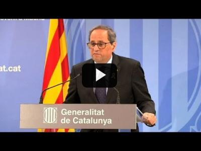 Embedded thumbnail for Video: Quim Torra puede ser juzgado por desobediencia por el Tribunal Superior de Justicia de Cataluña