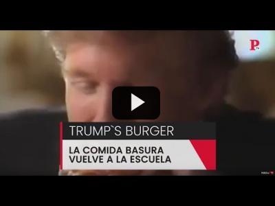 Embedded thumbnail for Video: Trump devuelve la comida basura a las escuelas en Estados Unidos