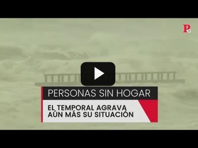 Embedded thumbnail for Video: Personas sin hogar: el temporal agrava aún más su situación
