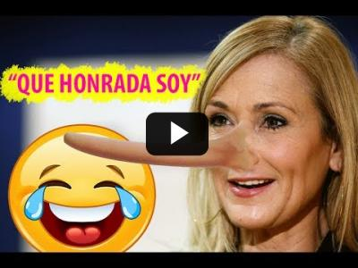 "Embedded thumbnail for Video: Cristina Cifuentes ""QUE HONRADA SOY!!"" (SE LUCE LA RUBIA) - Entrevista 2017"