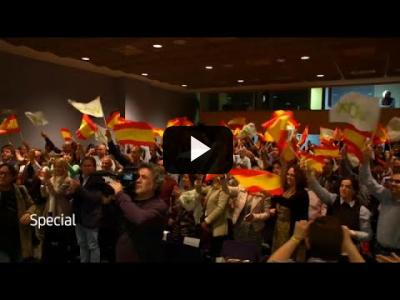 Embedded thumbnail for Video: El ascenso de Vox alimentado por el independentismo catalán