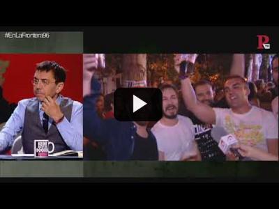 Embedded thumbnail for Video: #EnLaFrontera96 - Entrevista al periodista y escritor Daniel Bernabé