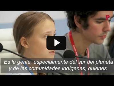 Embedded thumbnail for Video: El discurso de Greta Thunberg