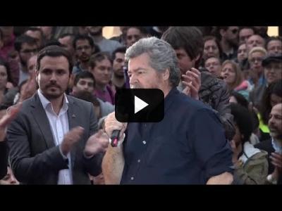 """Embedded thumbnail for Video: """"La lucha contra el cambio climático tiene un nombre: Unidas Podemos"""""""
