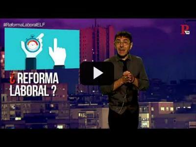 Embedded thumbnail for Video: #EnLaFrontera193 - ¿Ha servido para algo la última Reforma Laboral?