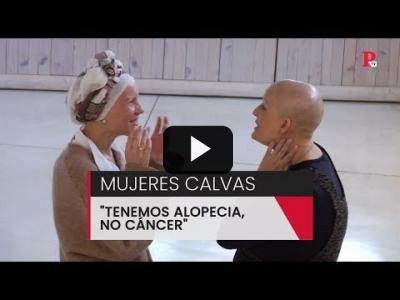 "Embedded thumbnail for Video: Mujeres calvas: ""Tenemos alopecia, no cáncer"""
