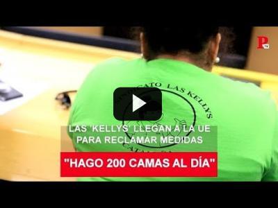 Embedded thumbnail for Video: Las 'kellys' viajan a Bruselas