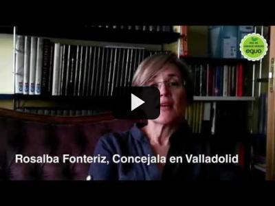 Embedded thumbnail for Video: Rosalba Fontériz, concejala en Valladolid