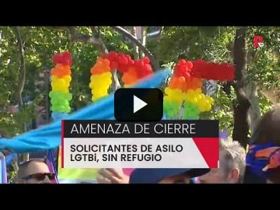 Embedded thumbnail for Video: Amenaza de cierre al único piso de solicitantes de asilo LGTBi