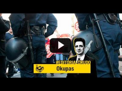 "Embedded thumbnail for Video: ""Okupas"" #EditorialCrudo 