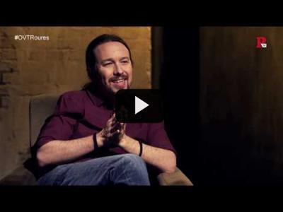 Embedded thumbnail for Video: Otra Vuelta de Tuerka - Pablo Iglesias con Jaume Roures